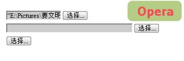 input file in Opera